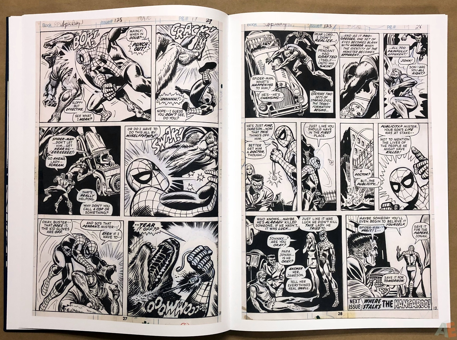 Ross Andru's The Amazing Spider-Man Artist's Edition 14
