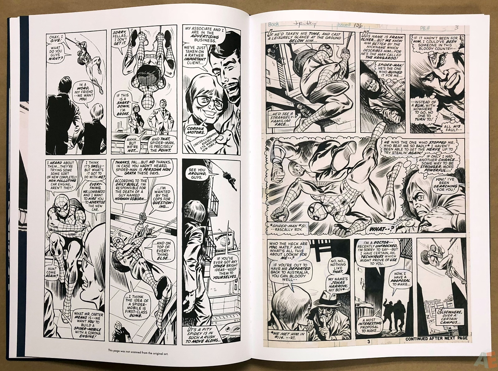 Ross Andru's The Amazing Spider-Man Artist's Edition 16