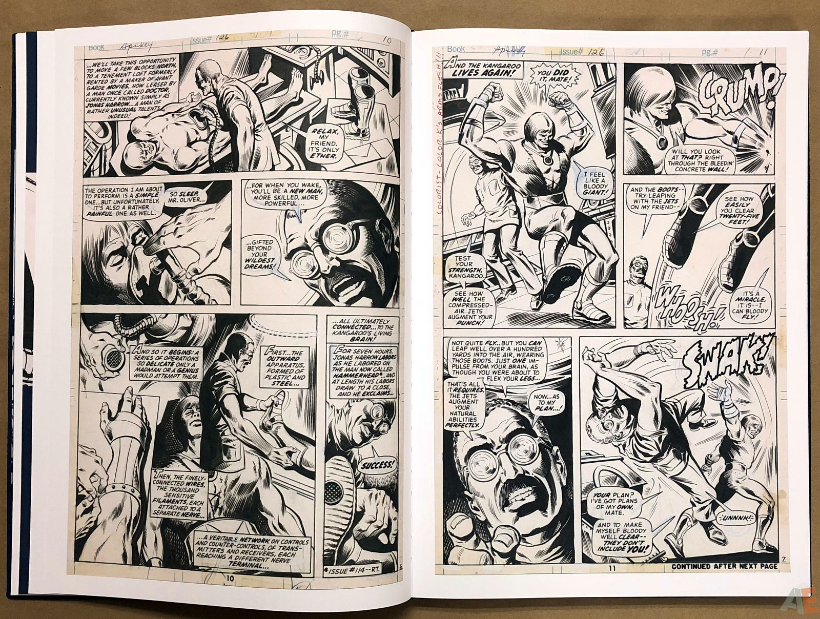 Ross Andru's The Amazing Spider-Man Artist's Edition 18
