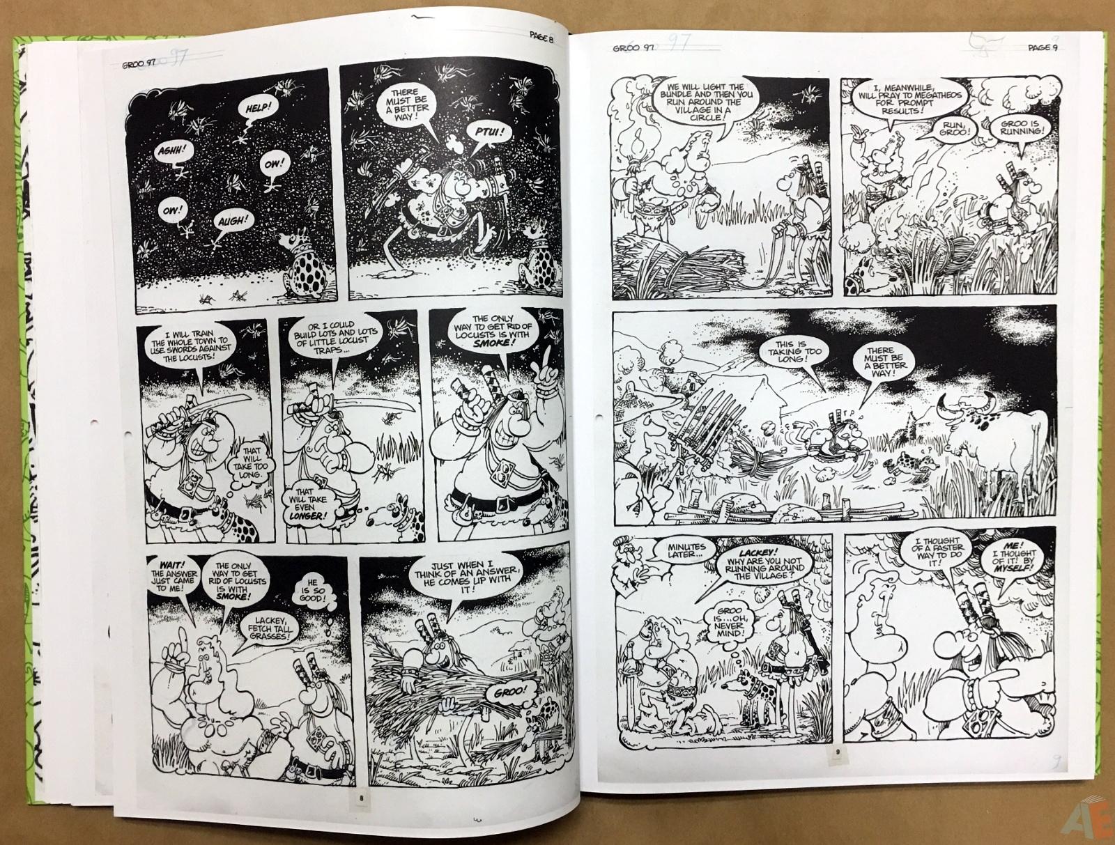 Sergio Aragonés Groo The Wanderer Artist's Edition 22