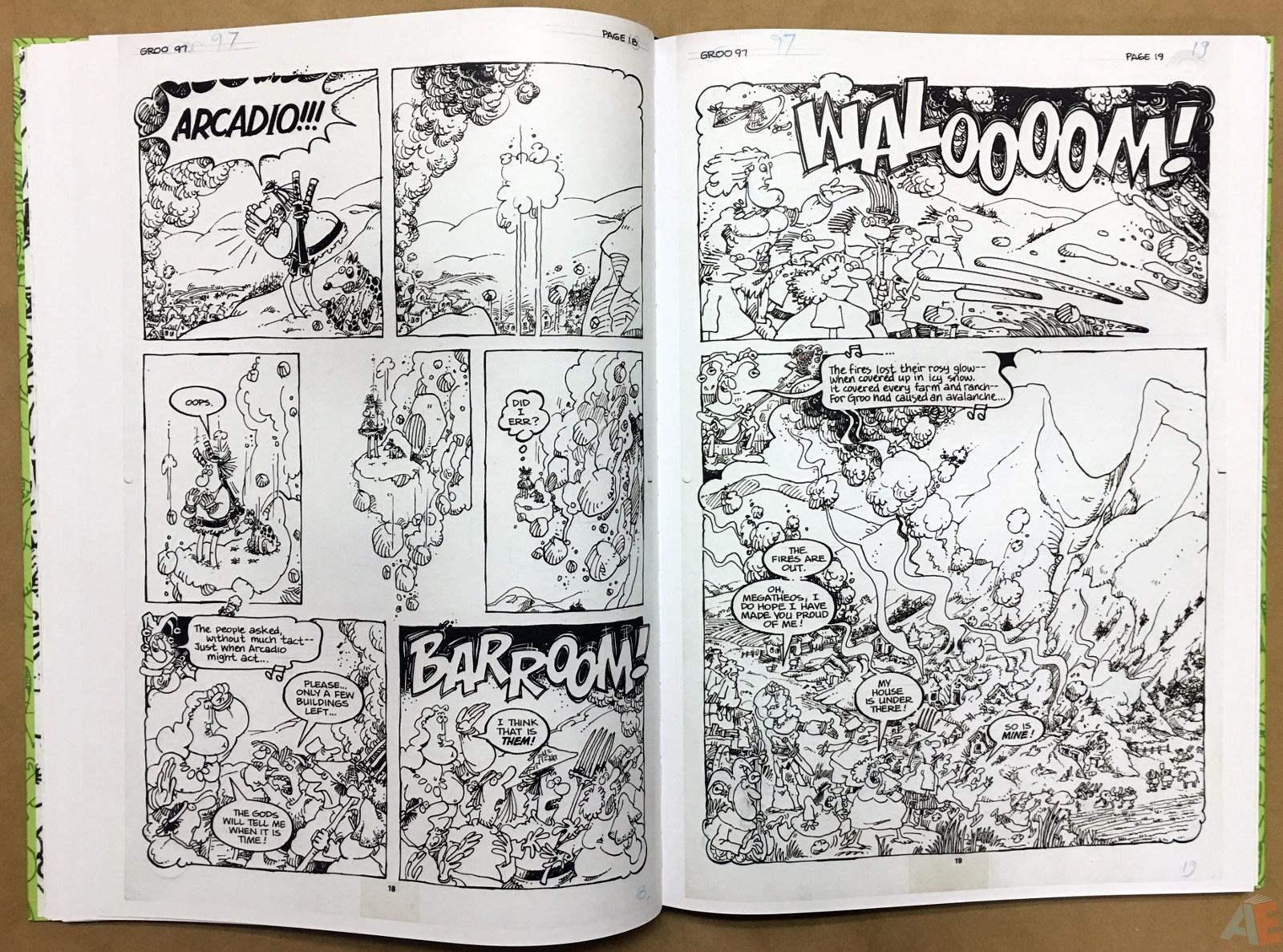 Sergio Aragonés Groo The Wanderer Artist's Edition 24