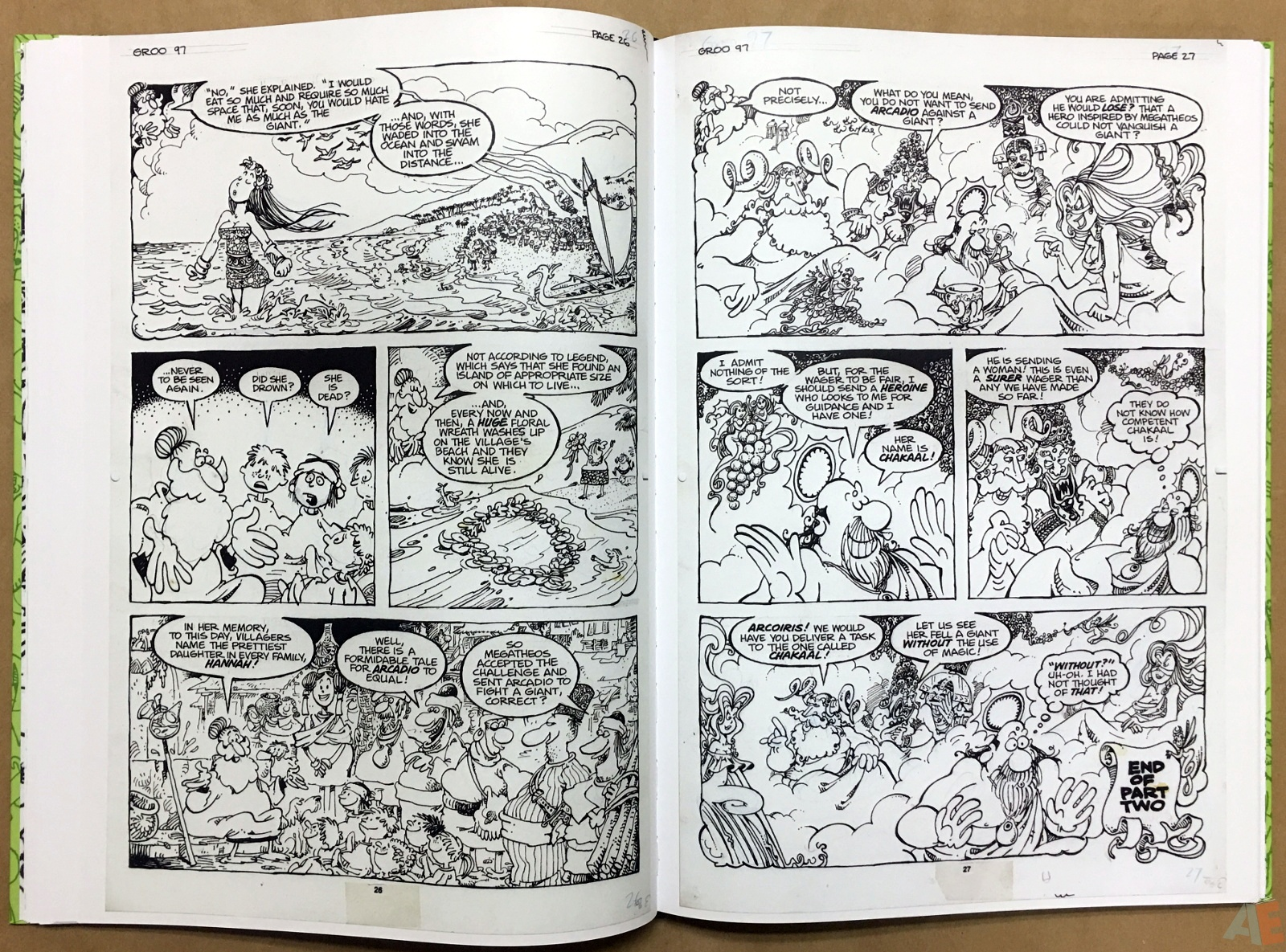 Sergio Aragonés Groo The Wanderer Artist's Edition 26