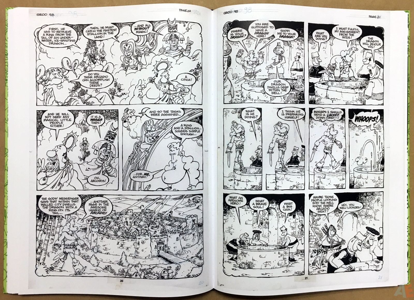 Sergio Aragonés Groo The Wanderer Artist's Edition 32