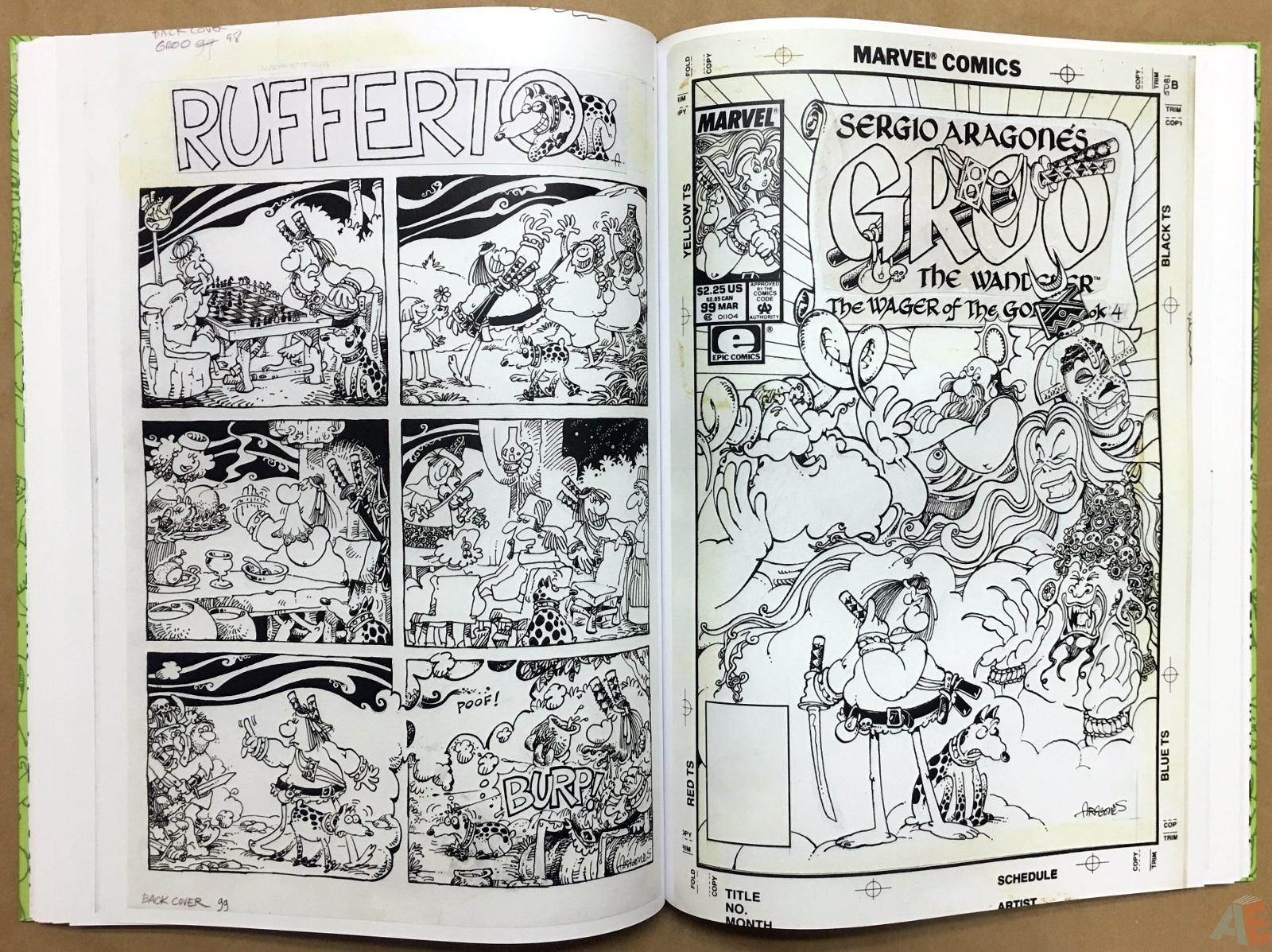 Sergio Aragonés Groo The Wanderer Artist's Edition 34