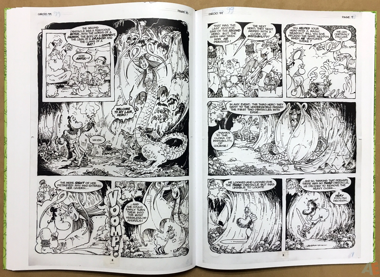 Sergio Aragonés Groo The Wanderer Artist's Edition 36