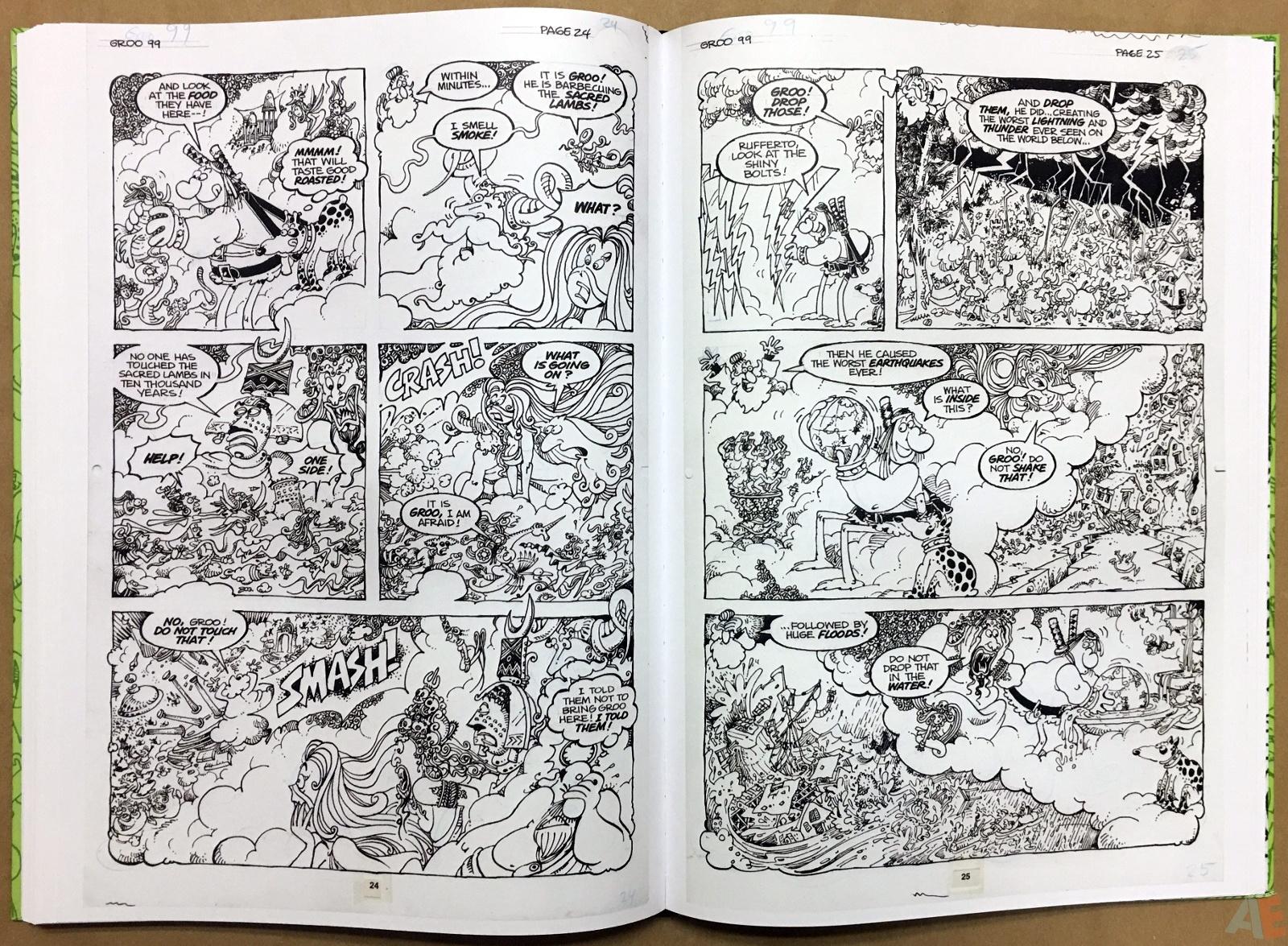 Sergio Aragonés Groo The Wanderer Artist's Edition 38