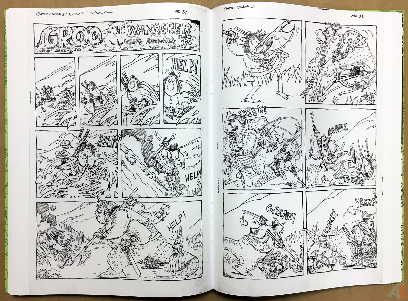Sergio Aragonés Groo The Wanderer Artist's Edition 44