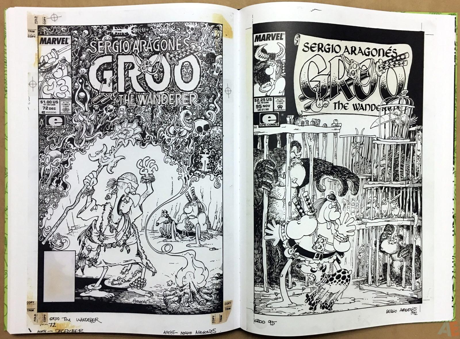 Sergio Aragonés Groo The Wanderer Artist's Edition 48