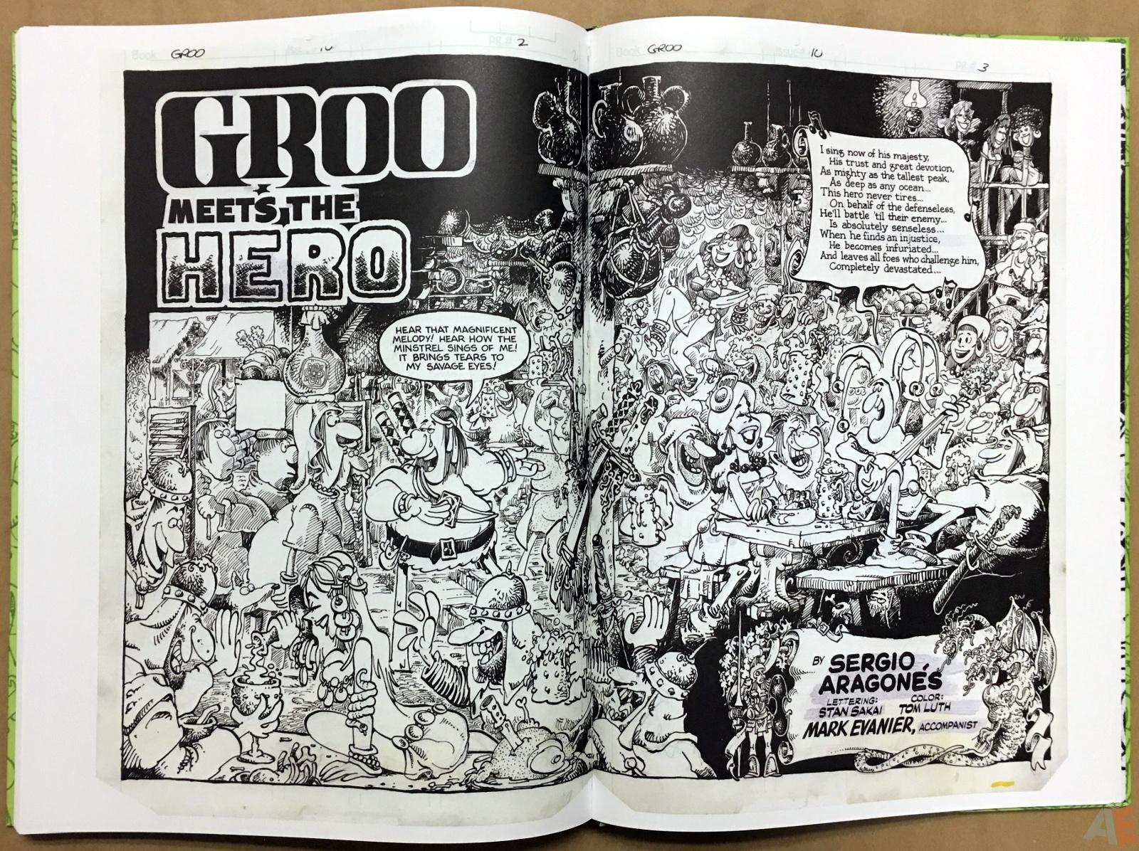 Sergio Aragonés Groo The Wanderer Artist's Edition 50