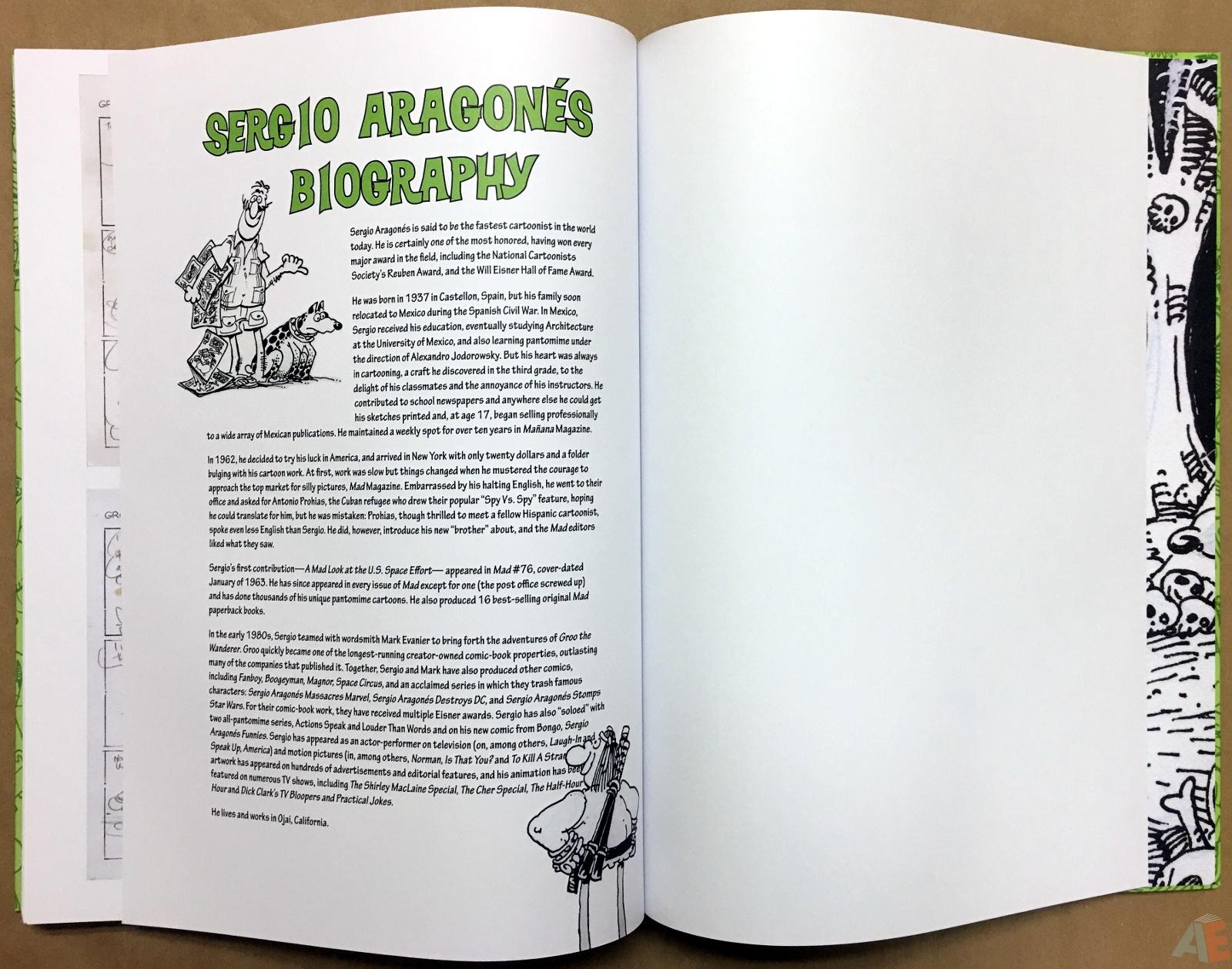 Sergio Aragonés Groo The Wanderer Artist's Edition 58