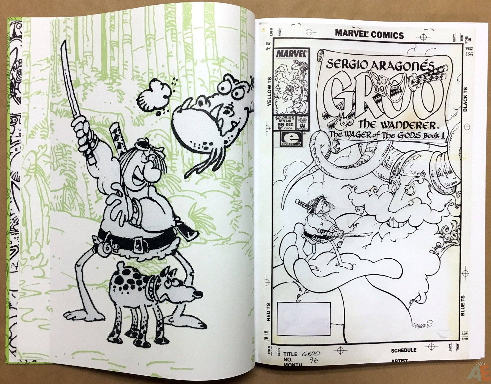 Sergio Aragonés Groo The Wanderer Artist's Edition 10