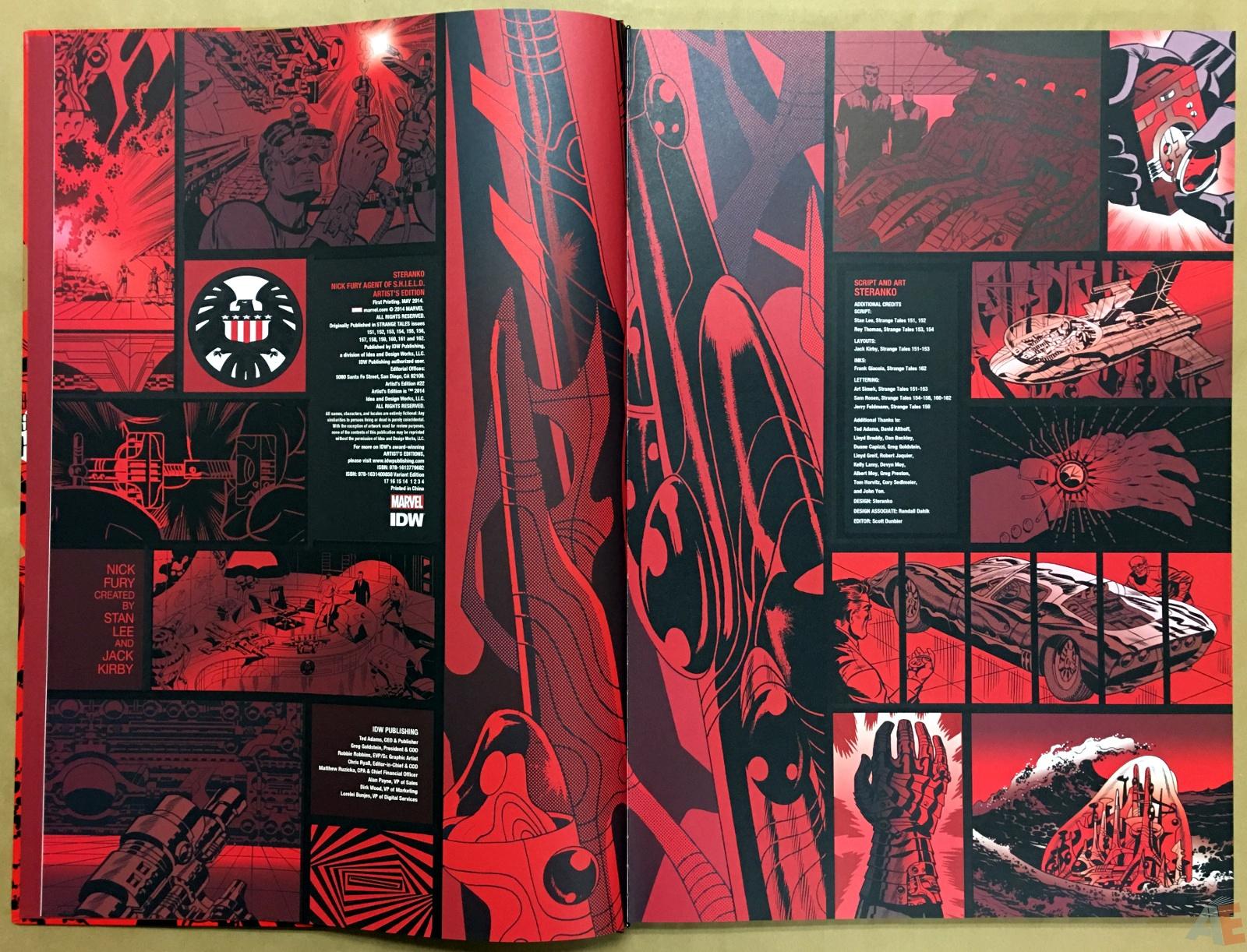 Steranko Nick Fury Agent of S.H.I.E.L.D. Artist's Edition 4