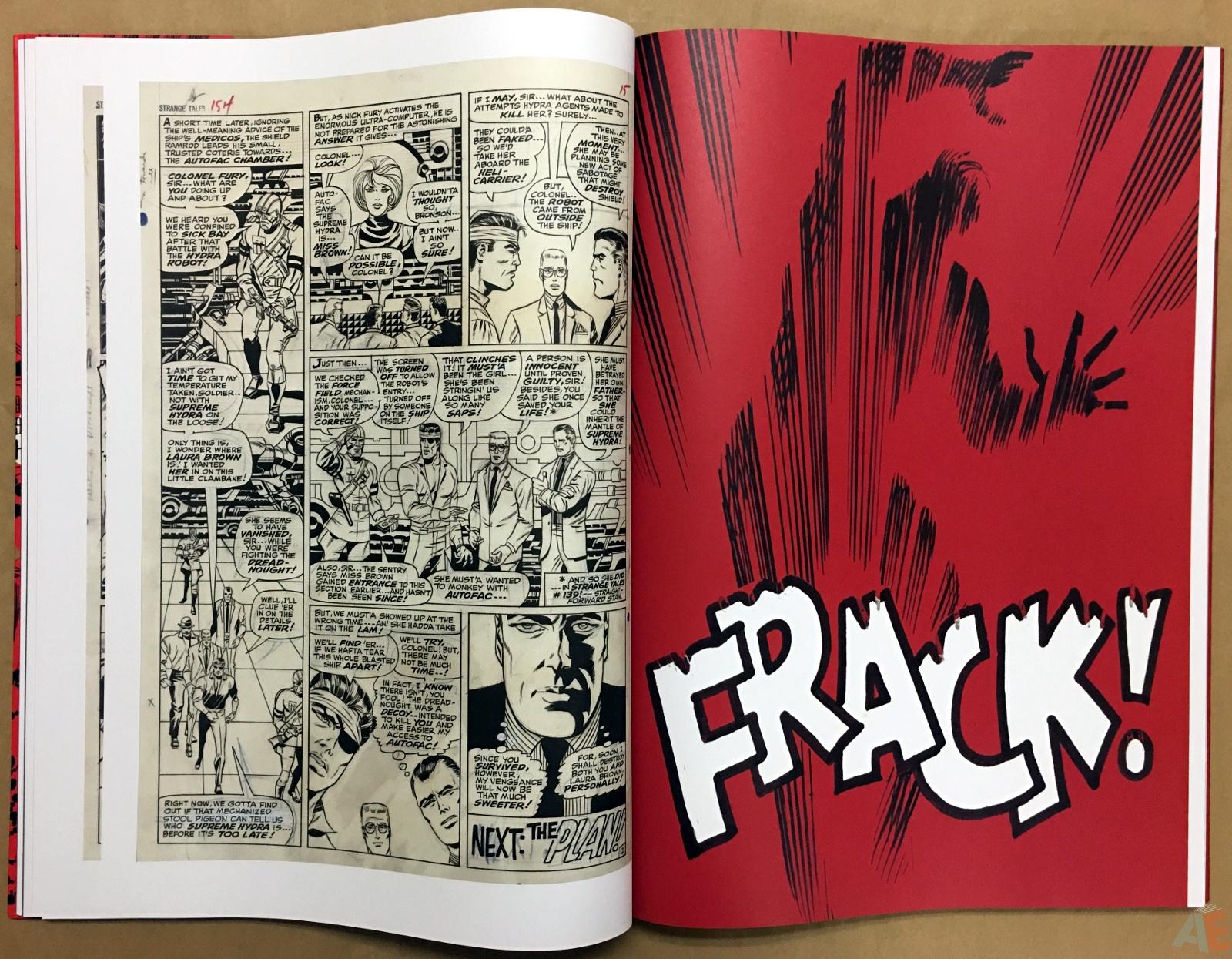 Steranko Nick Fury Agent of S.H.I.E.L.D. Artist's Edition 24
