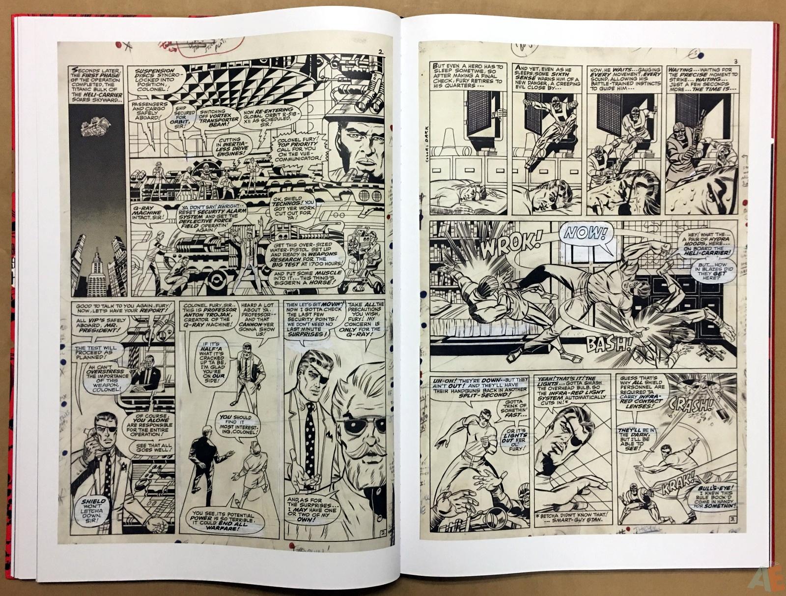 Steranko Nick Fury Agent of S.H.I.E.L.D. Artist's Edition 26