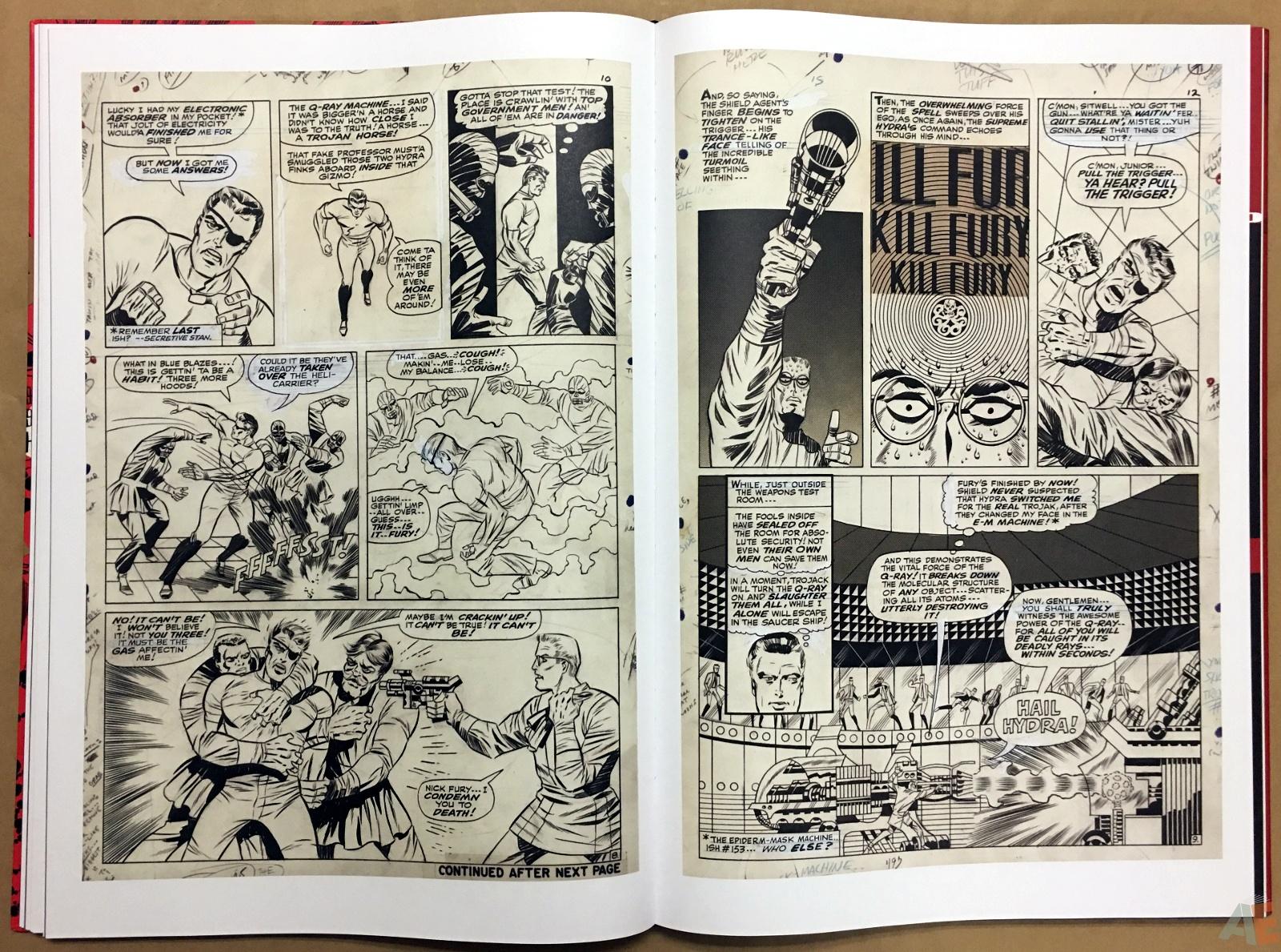 Steranko Nick Fury Agent of S.H.I.E.L.D. Artist's Edition 28
