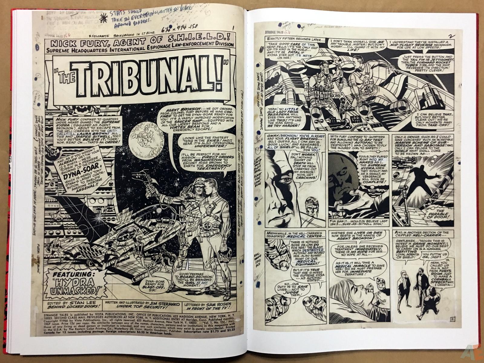 Steranko Nick Fury Agent of S.H.I.E.L.D. Artist's Edition 30