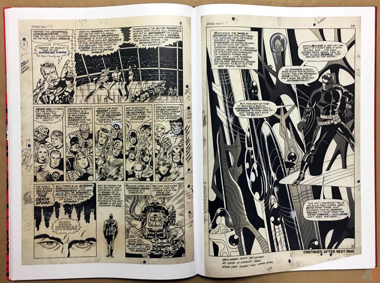 Steranko Nick Fury Agent of S.H.I.E.L.D. Artist's Edition 32