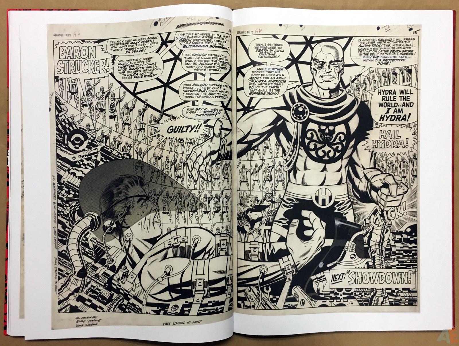 Steranko Nick Fury Agent of S.H.I.E.L.D. Artist's Edition 34