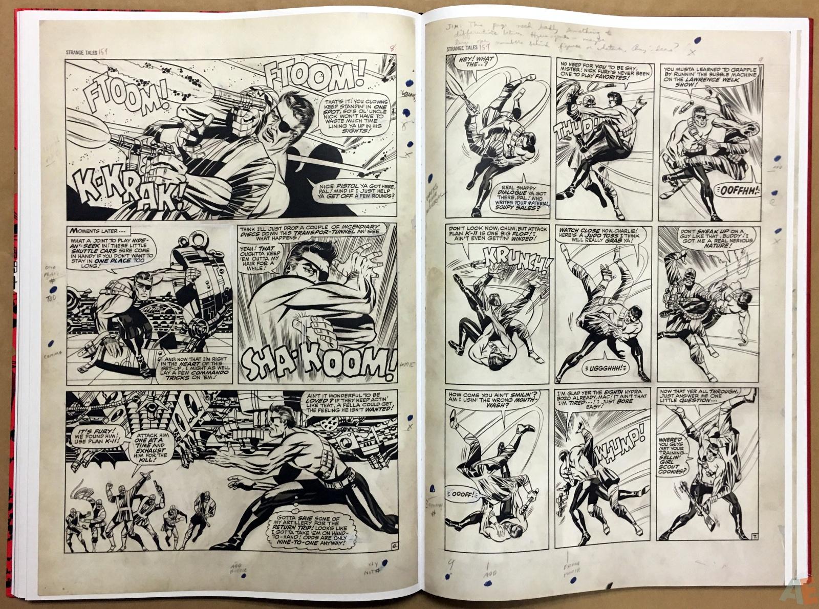 Steranko Nick Fury Agent of S.H.I.E.L.D. Artist's Edition 38