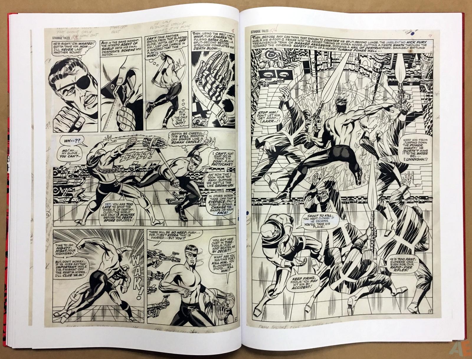 Steranko Nick Fury Agent of S.H.I.E.L.D. Artist's Edition 40