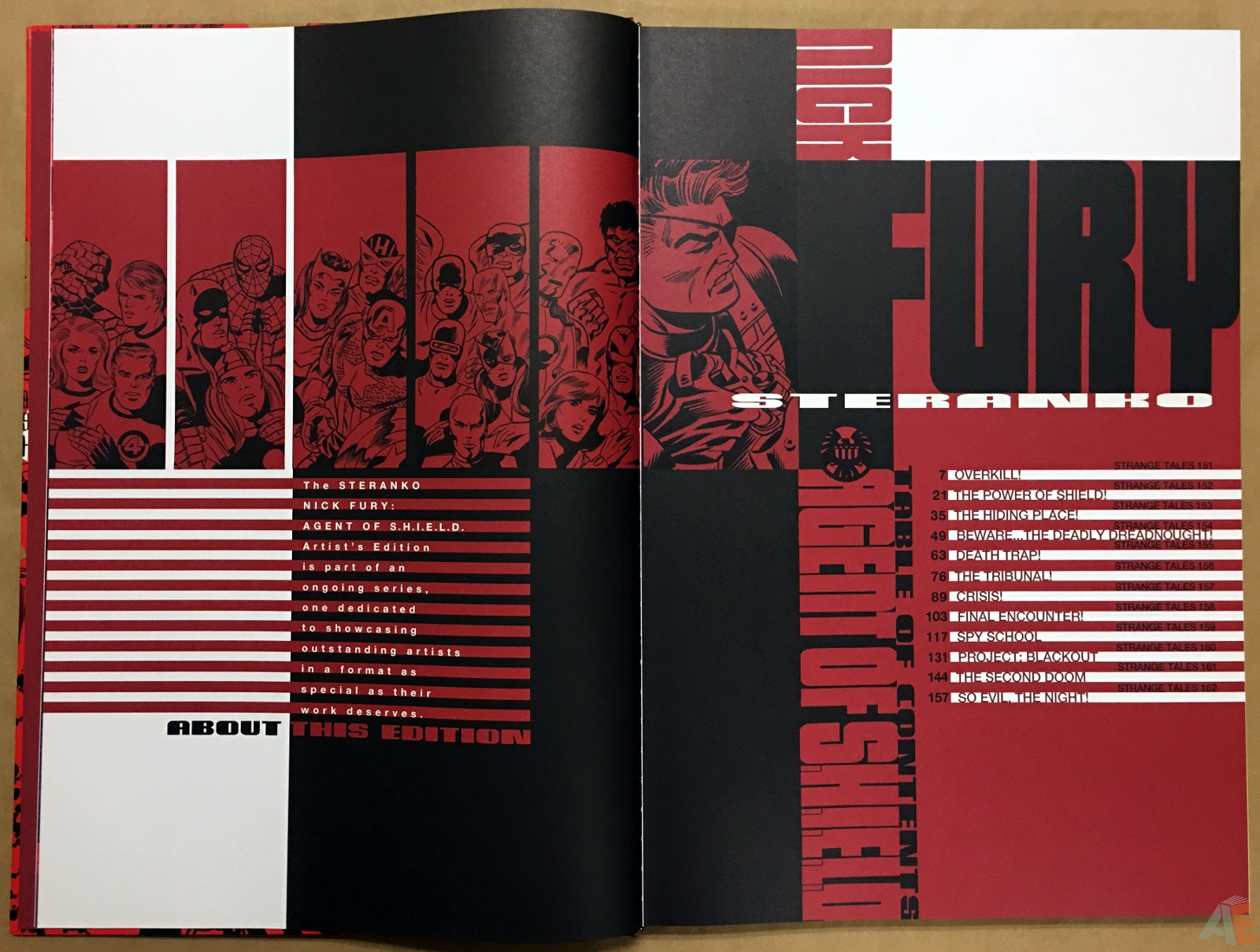 Steranko Nick Fury Agent of S.H.I.E.L.D. Artist's Edition 6