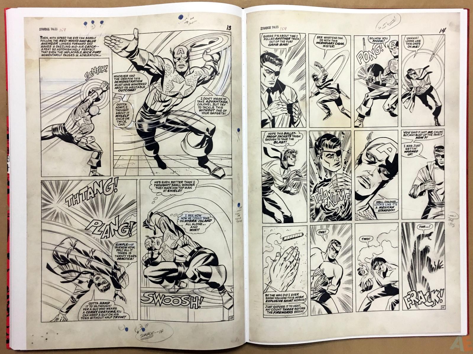 Steranko Nick Fury Agent of S.H.I.E.L.D. Artist's Edition 46