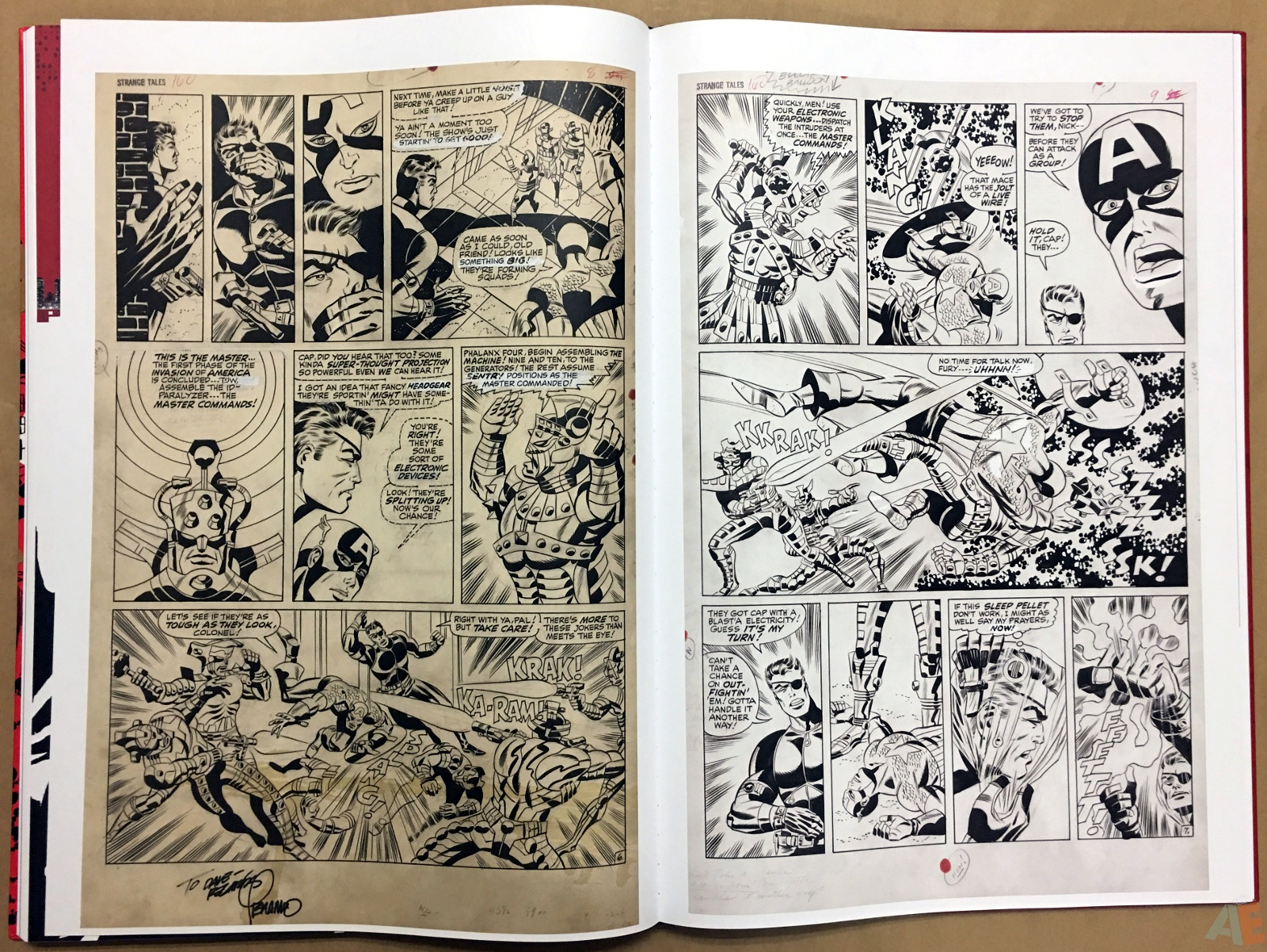 Steranko Nick Fury Agent of S.H.I.E.L.D. Artist's Edition 48