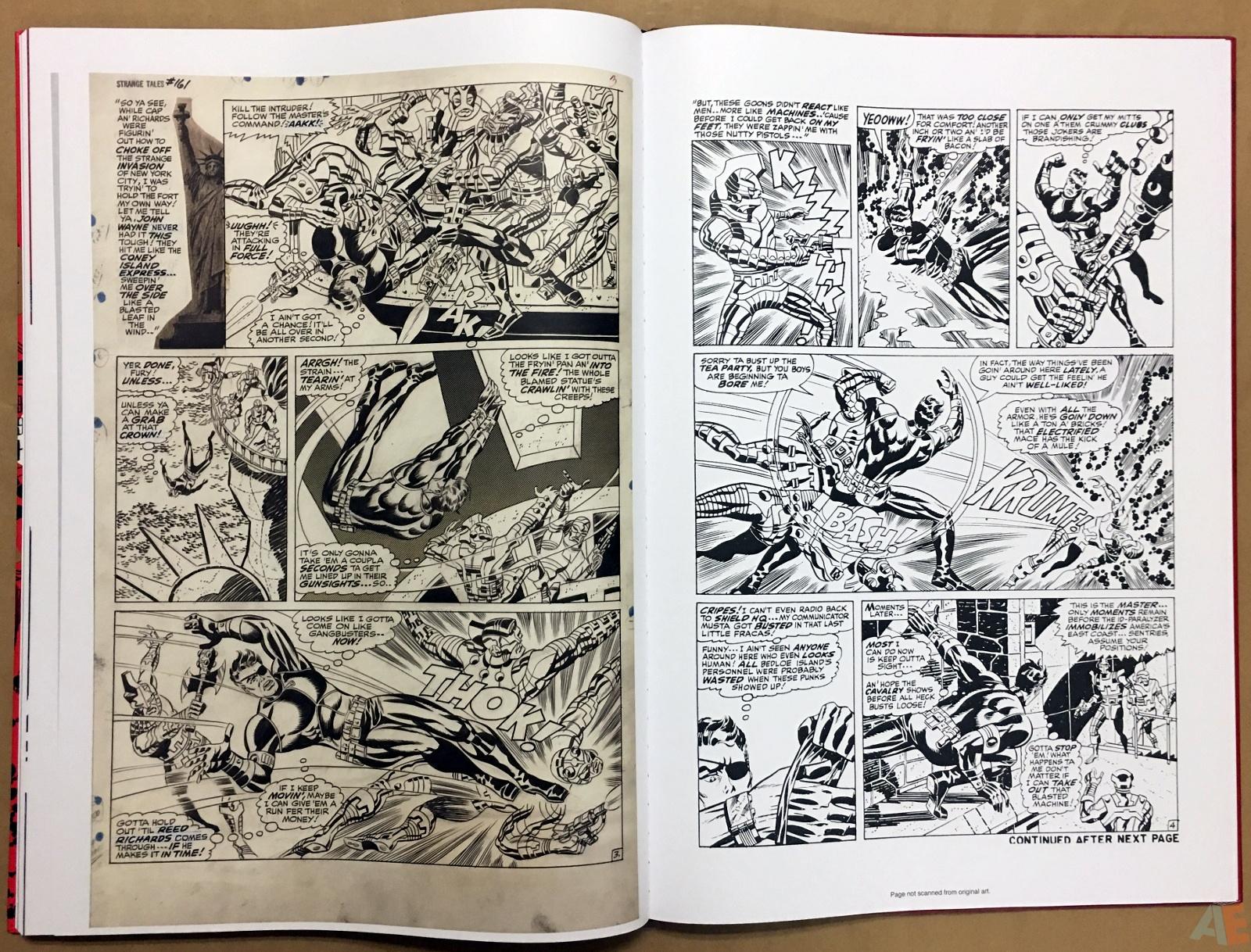 Steranko Nick Fury Agent of S.H.I.E.L.D. Artist's Edition 50