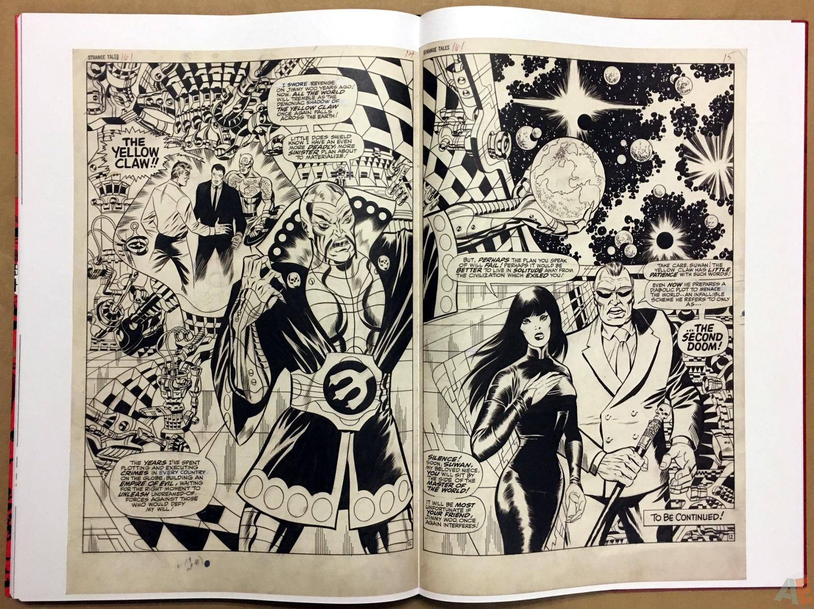 Steranko Nick Fury Agent of S.H.I.E.L.D. Artist's Edition 52