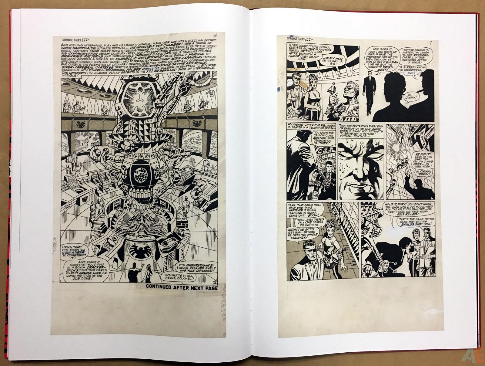 Steranko Nick Fury Agent of S.H.I.E.L.D. Artist's Edition 54