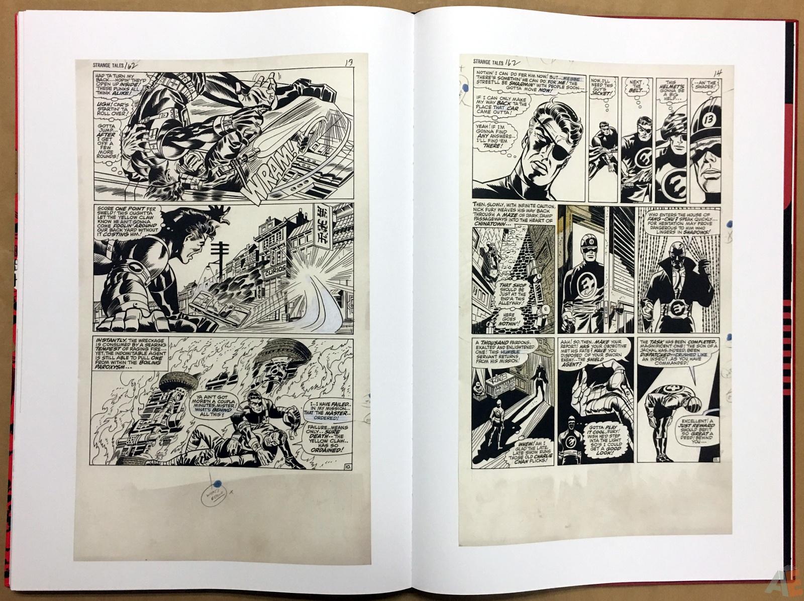 Steranko Nick Fury Agent of S.H.I.E.L.D. Artist's Edition 56