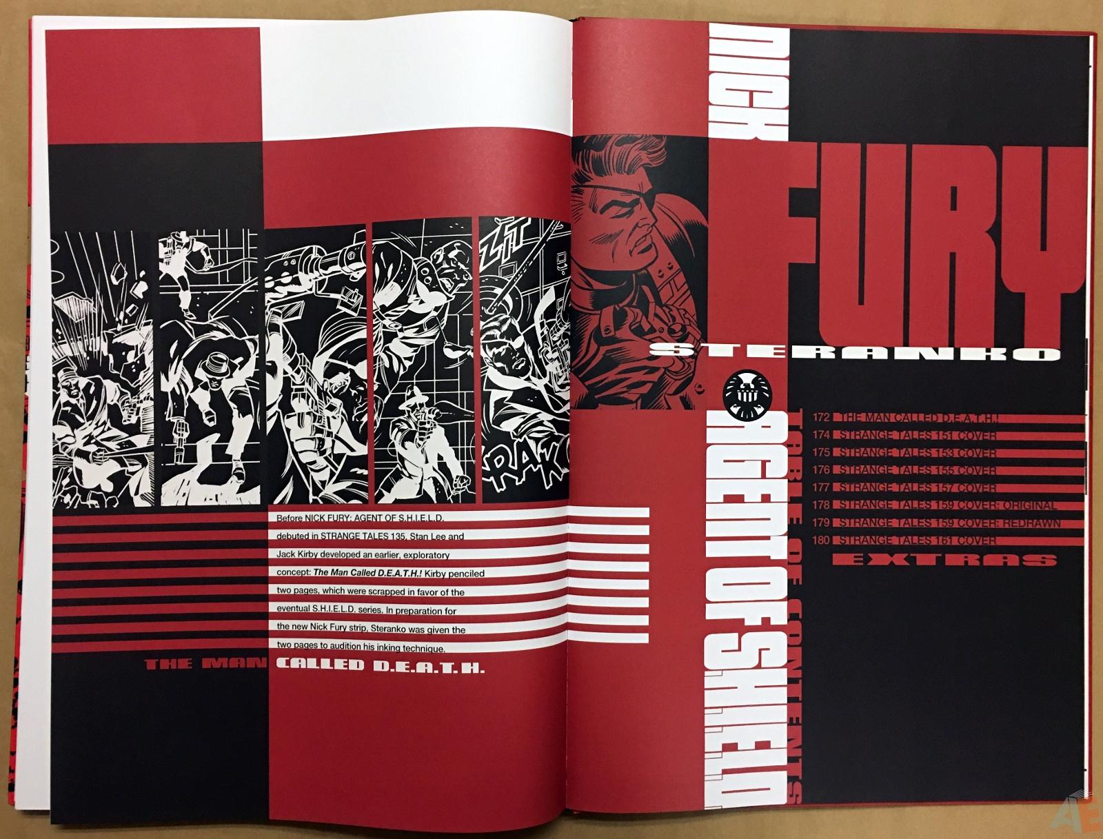 Steranko Nick Fury Agent of S.H.I.E.L.D. Artist's Edition 58