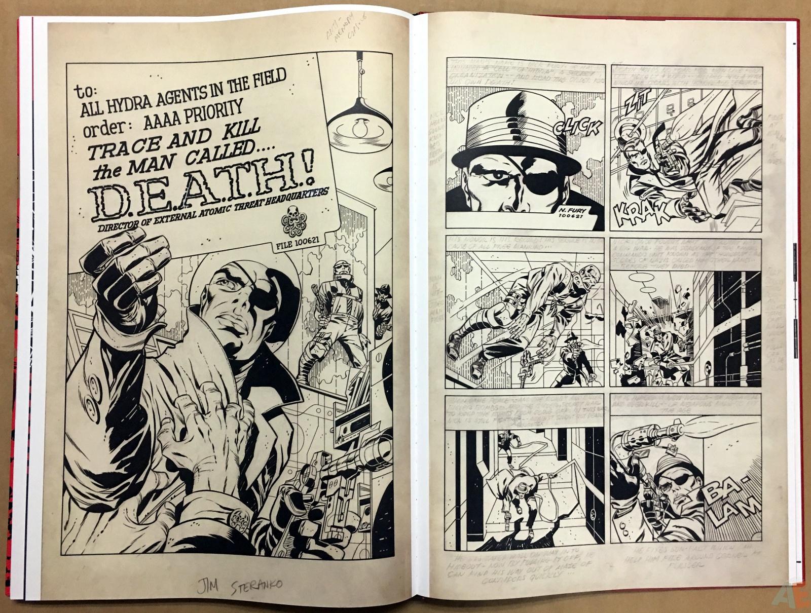 Steranko Nick Fury Agent of S.H.I.E.L.D. Artist's Edition 60