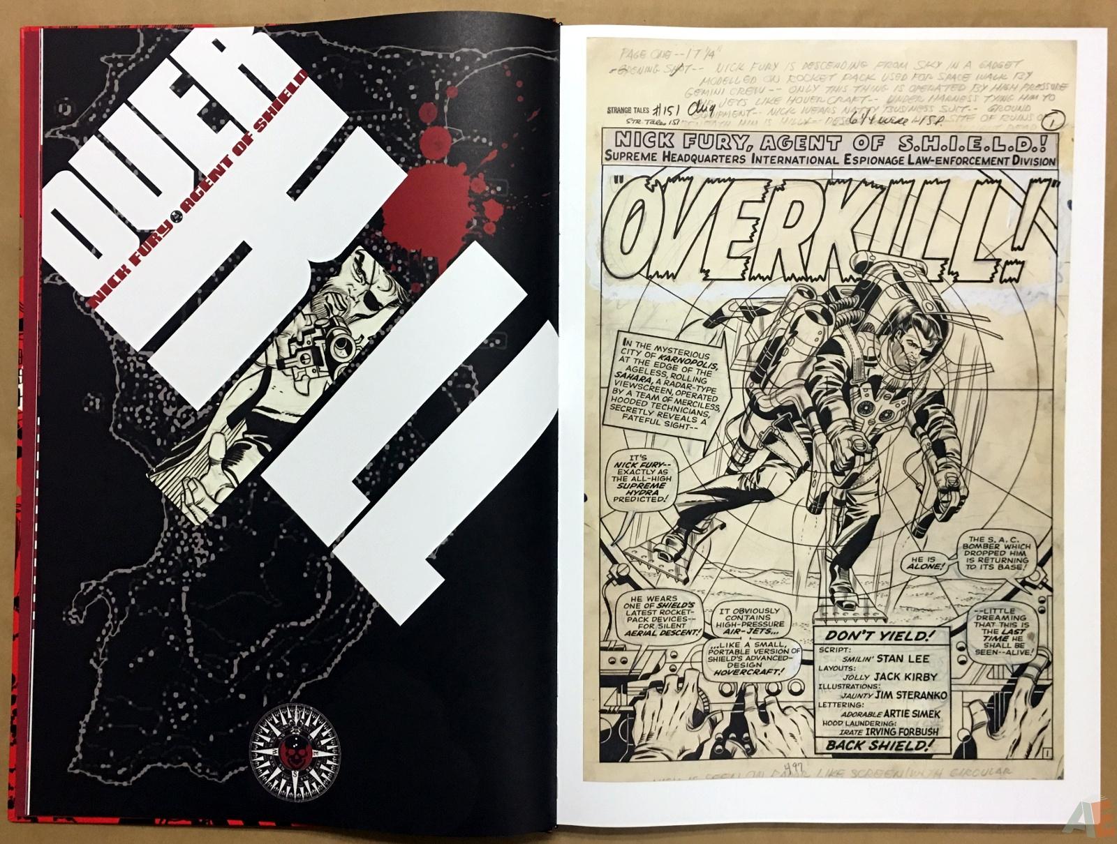 Steranko Nick Fury Agent of S.H.I.E.L.D. Artist's Edition 8