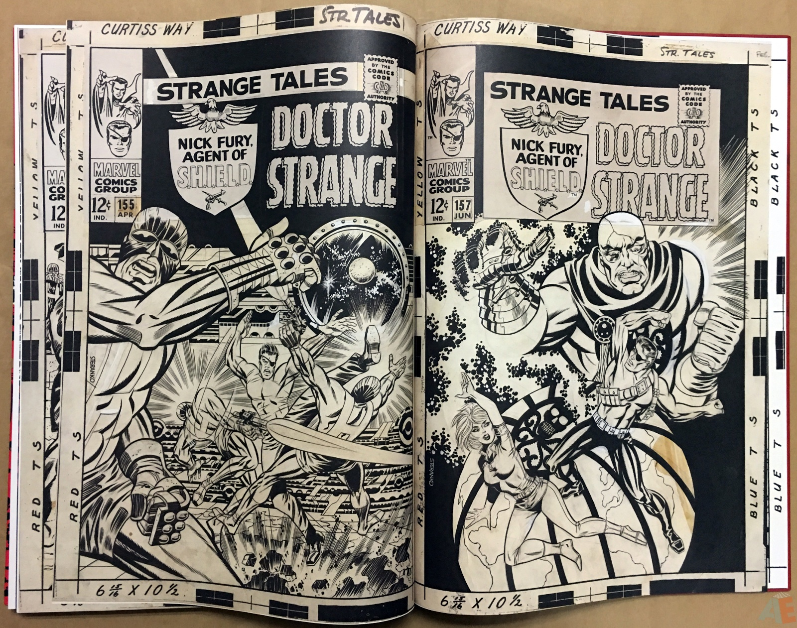 Steranko Nick Fury Agent of S.H.I.E.L.D. Artist's Edition 62