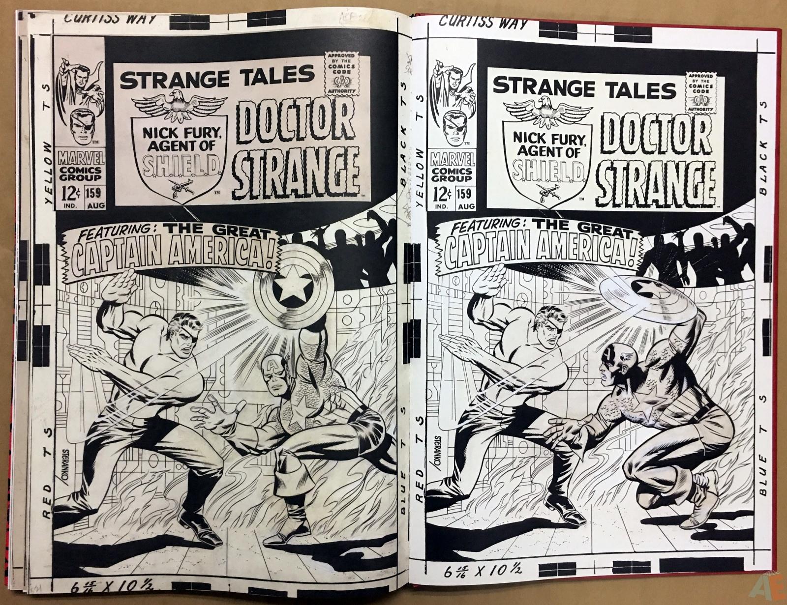 Steranko Nick Fury Agent of S.H.I.E.L.D. Artist's Edition 64
