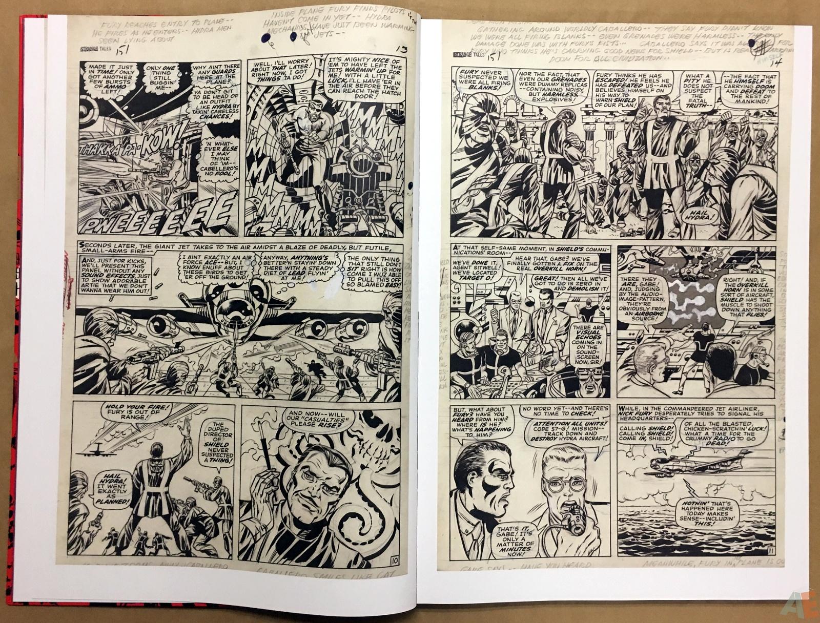 Steranko Nick Fury Agent of S.H.I.E.L.D. Artist's Edition 10