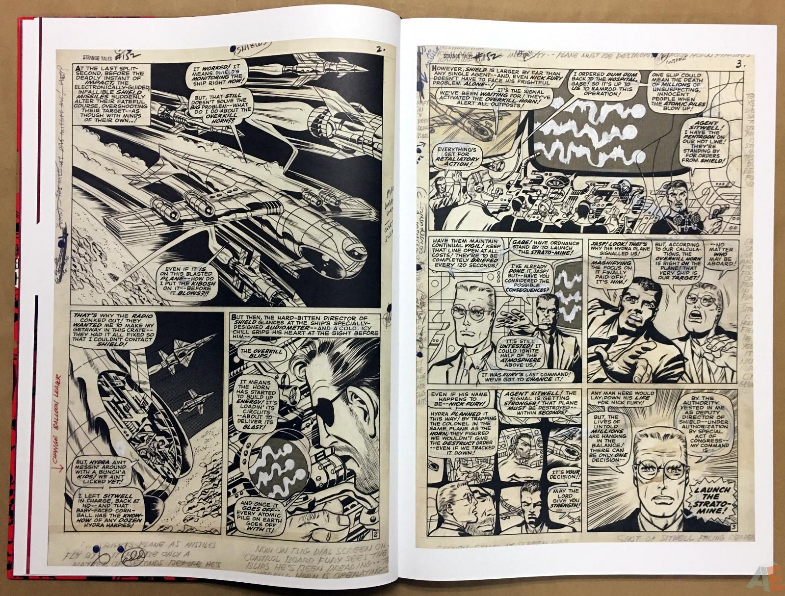 Steranko Nick Fury Agent of S.H.I.E.L.D. Artist's Edition 12