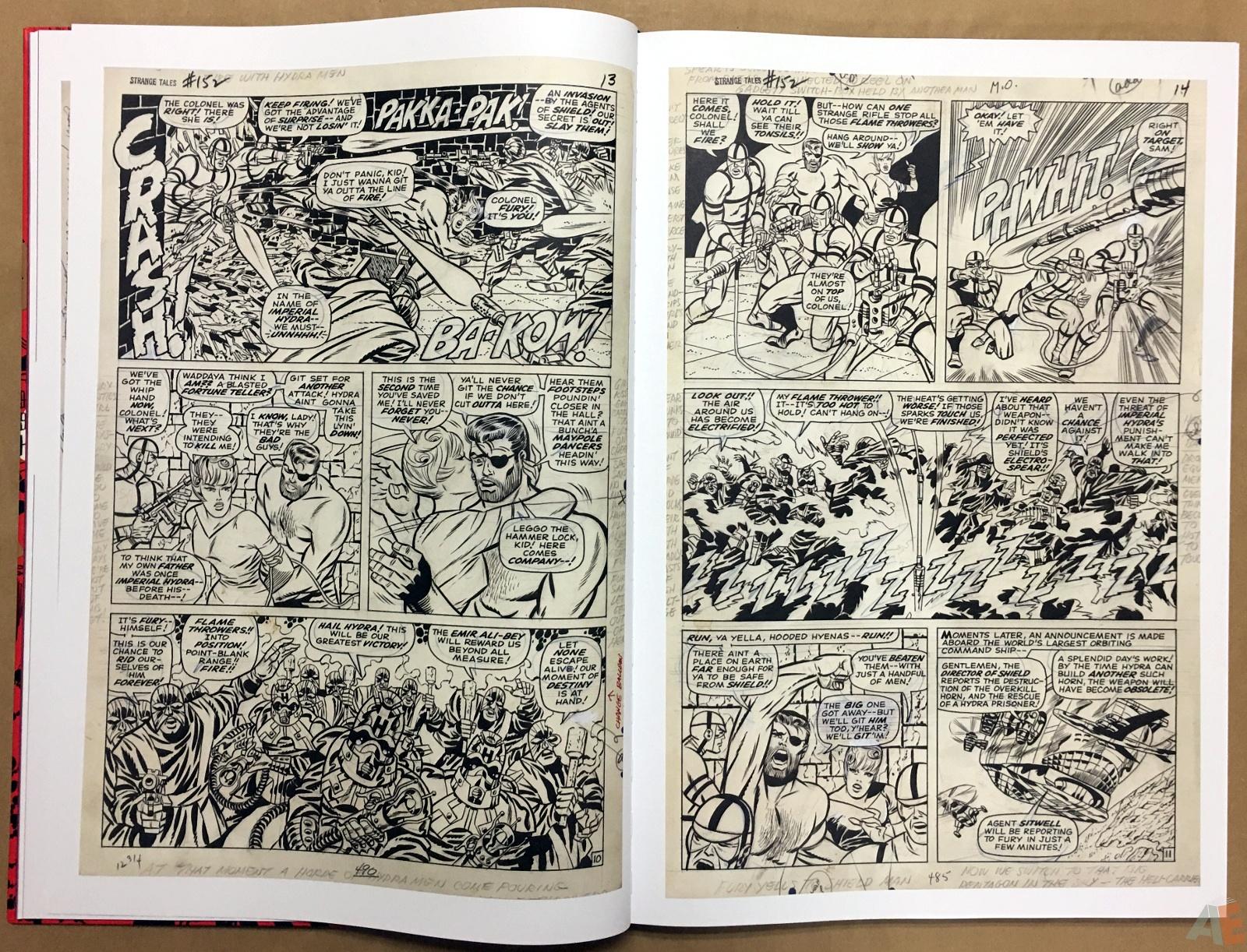Steranko Nick Fury Agent of S.H.I.E.L.D. Artist's Edition 14