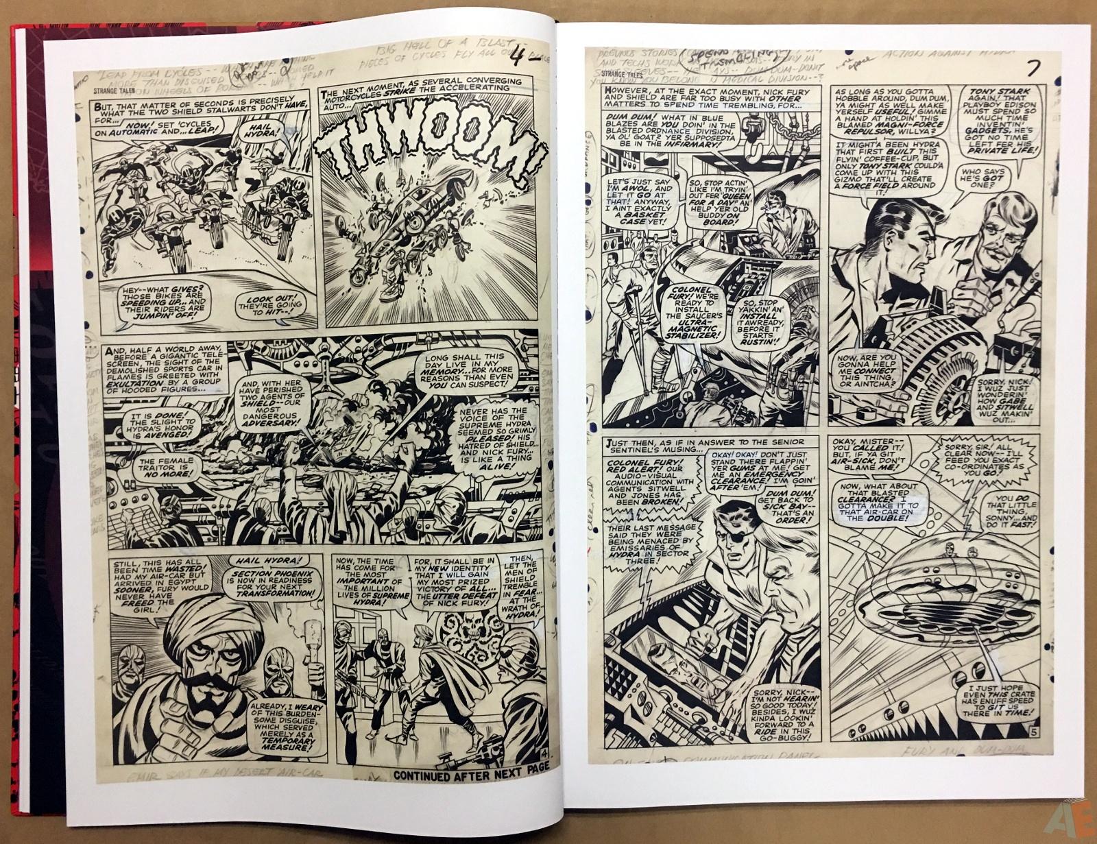 Steranko Nick Fury Agent of S.H.I.E.L.D. Artist's Edition 16