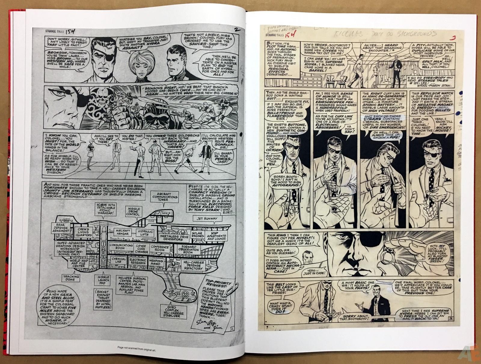 Steranko Nick Fury Agent of S.H.I.E.L.D. Artist's Edition 20