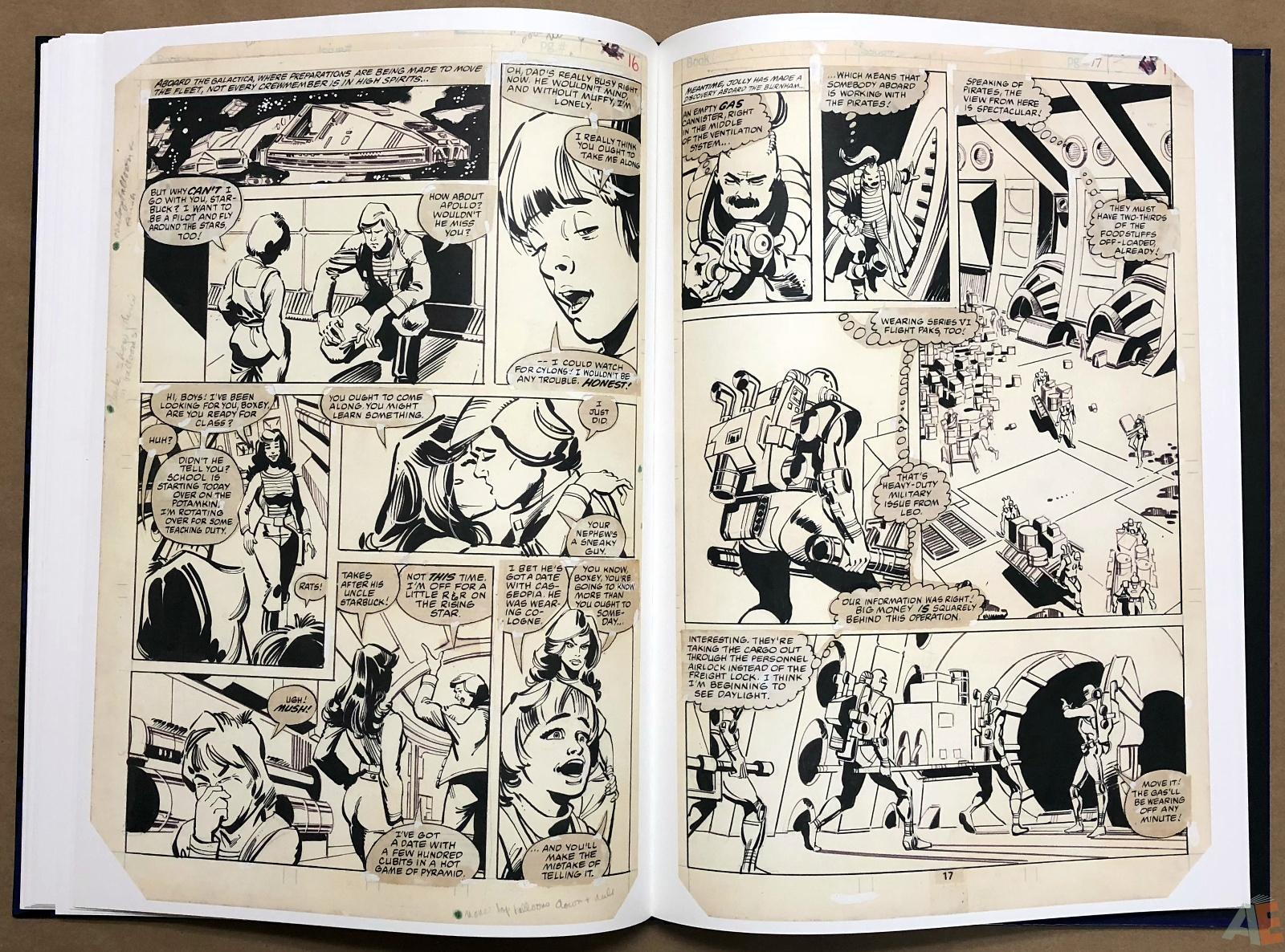 Walter Simonson's Battlestar Galactica Art Edition 22