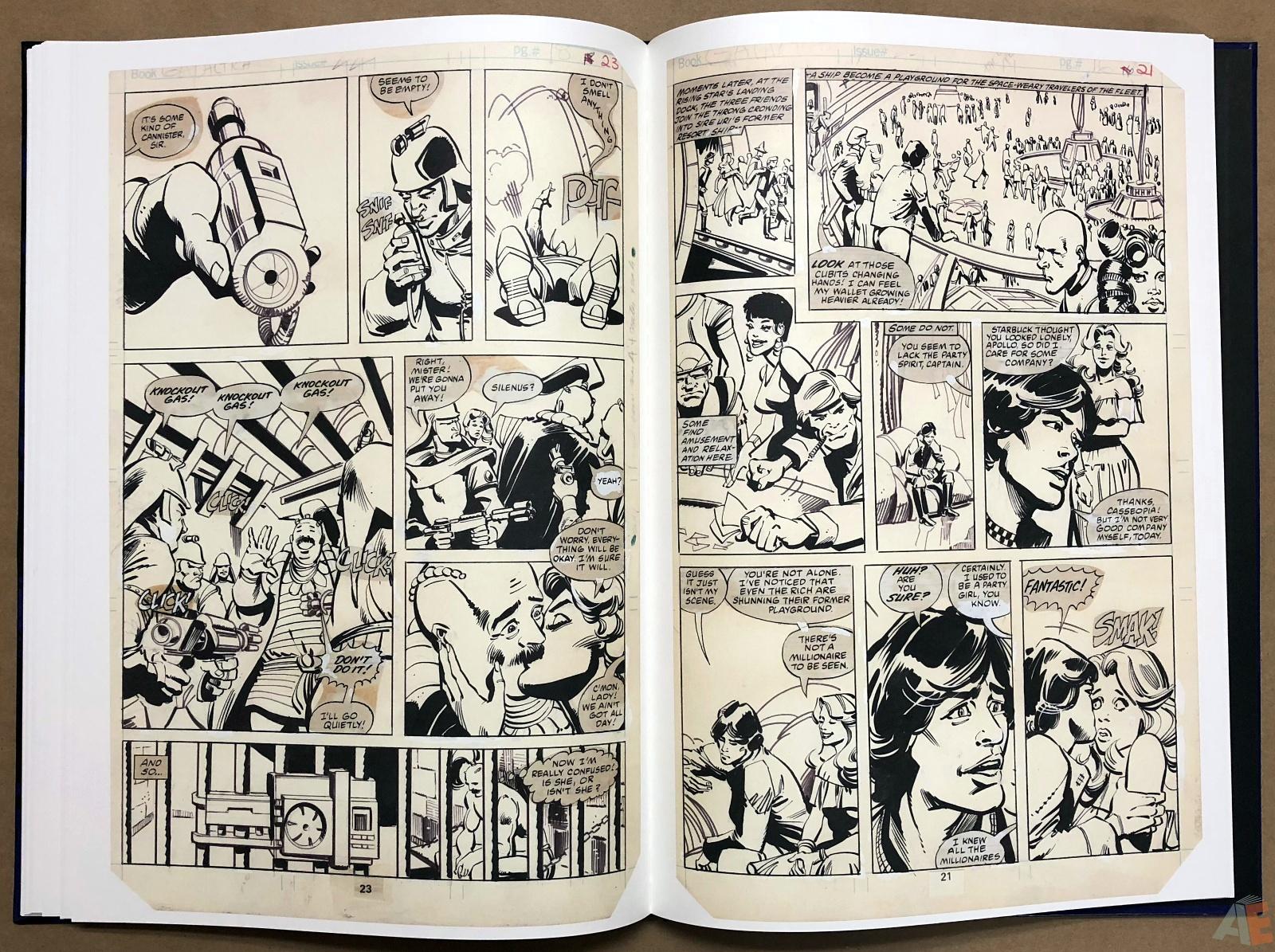 Walter Simonson's Battlestar Galactica Art Edition 24