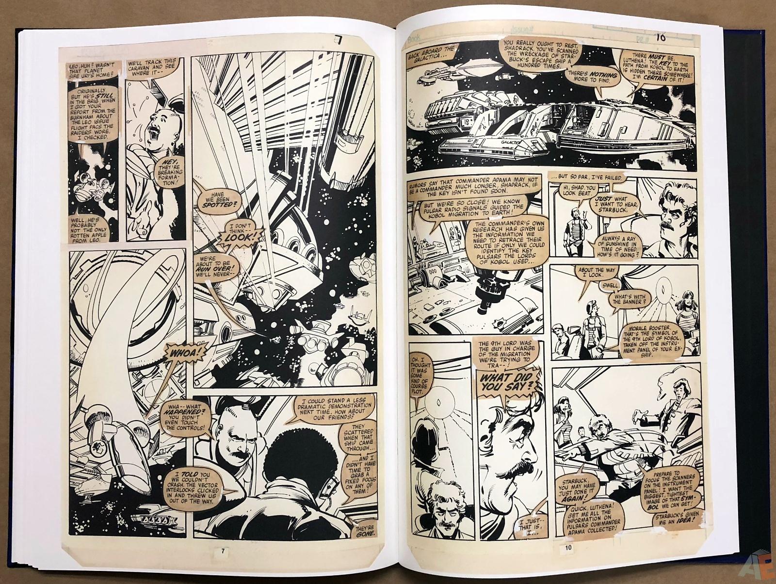 Walter Simonson's Battlestar Galactica Art Edition 28