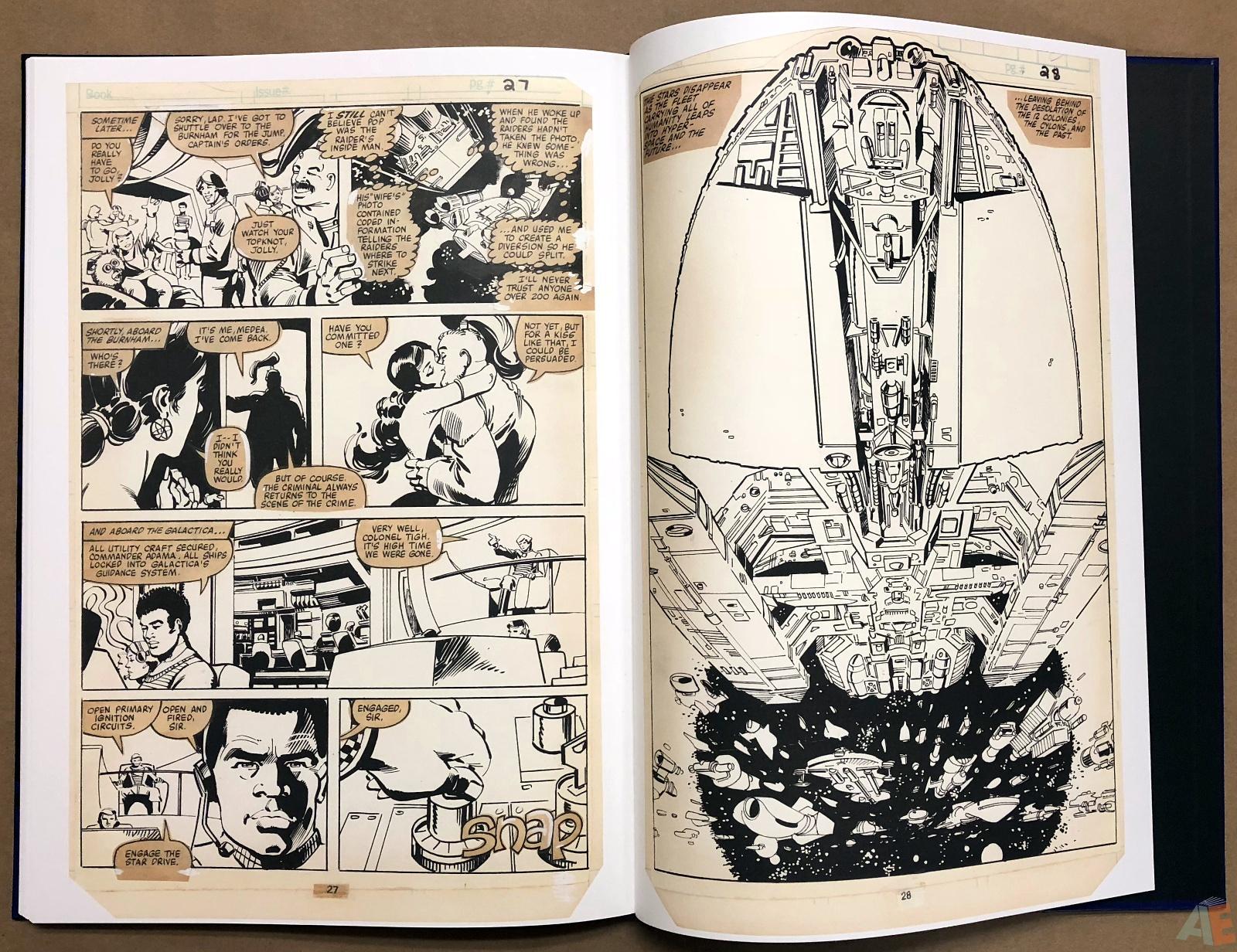 Walter Simonson's Battlestar Galactica Art Edition 32