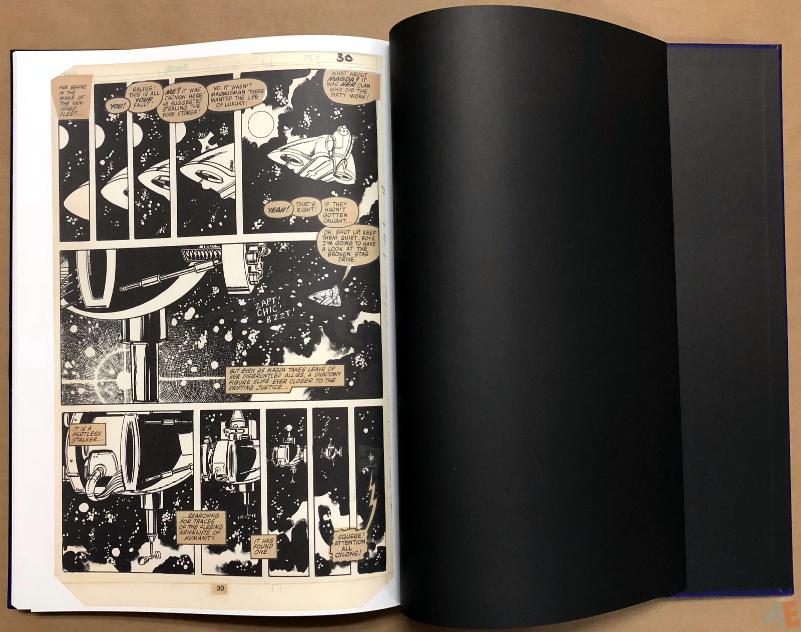 Walter Simonson's Battlestar Galactica Art Edition 34