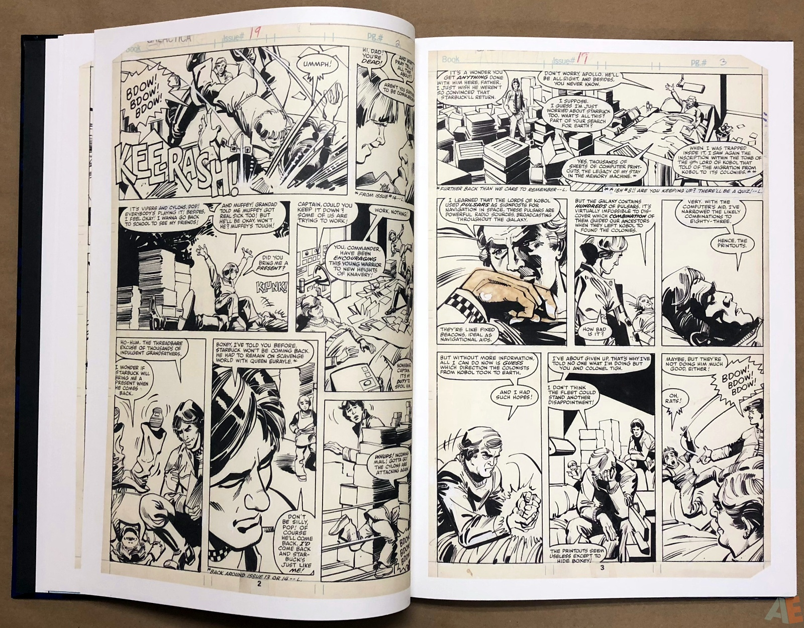 Walter Simonson's Battlestar Galactica Art Edition 10