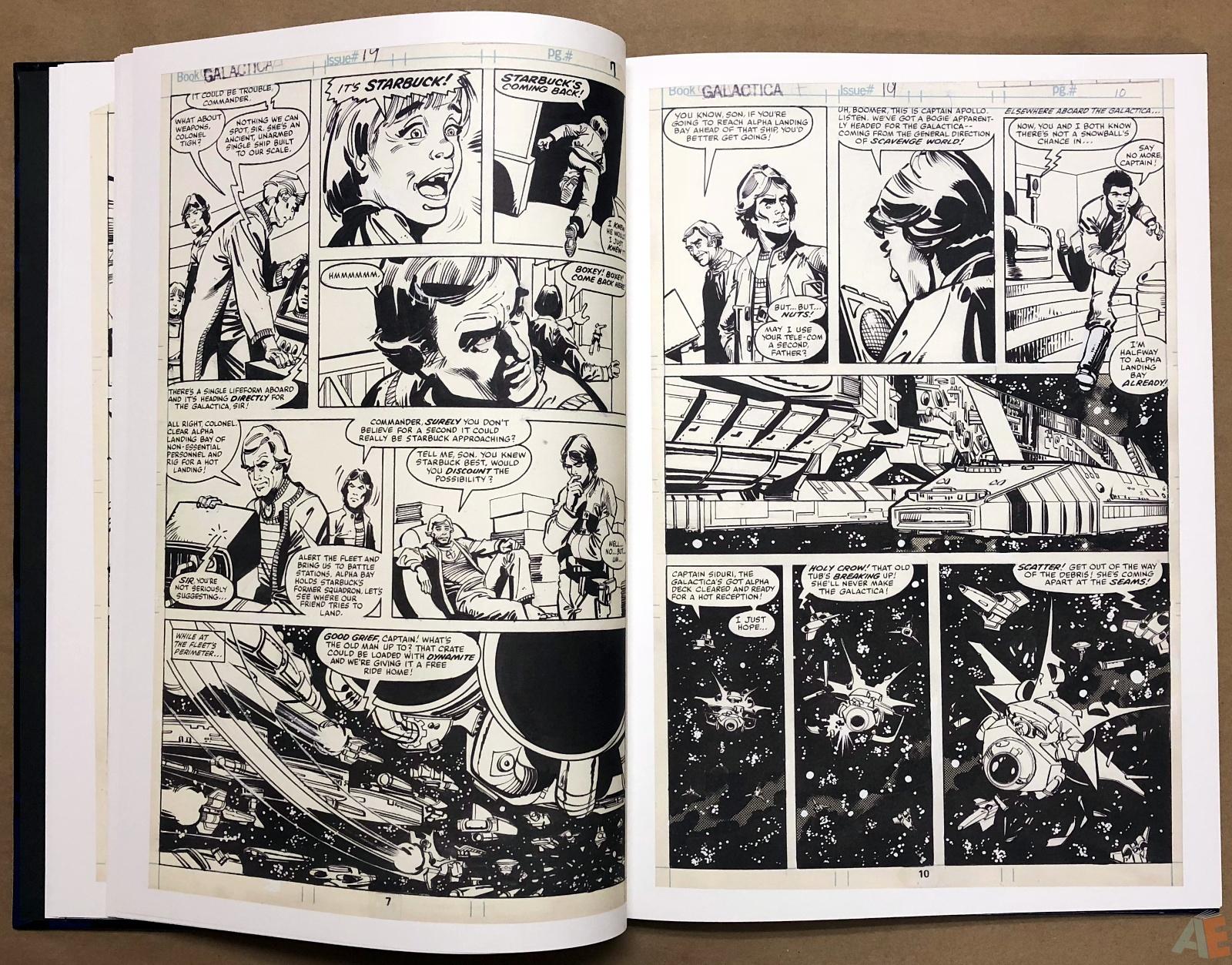Walter Simonson's Battlestar Galactica Art Edition 12