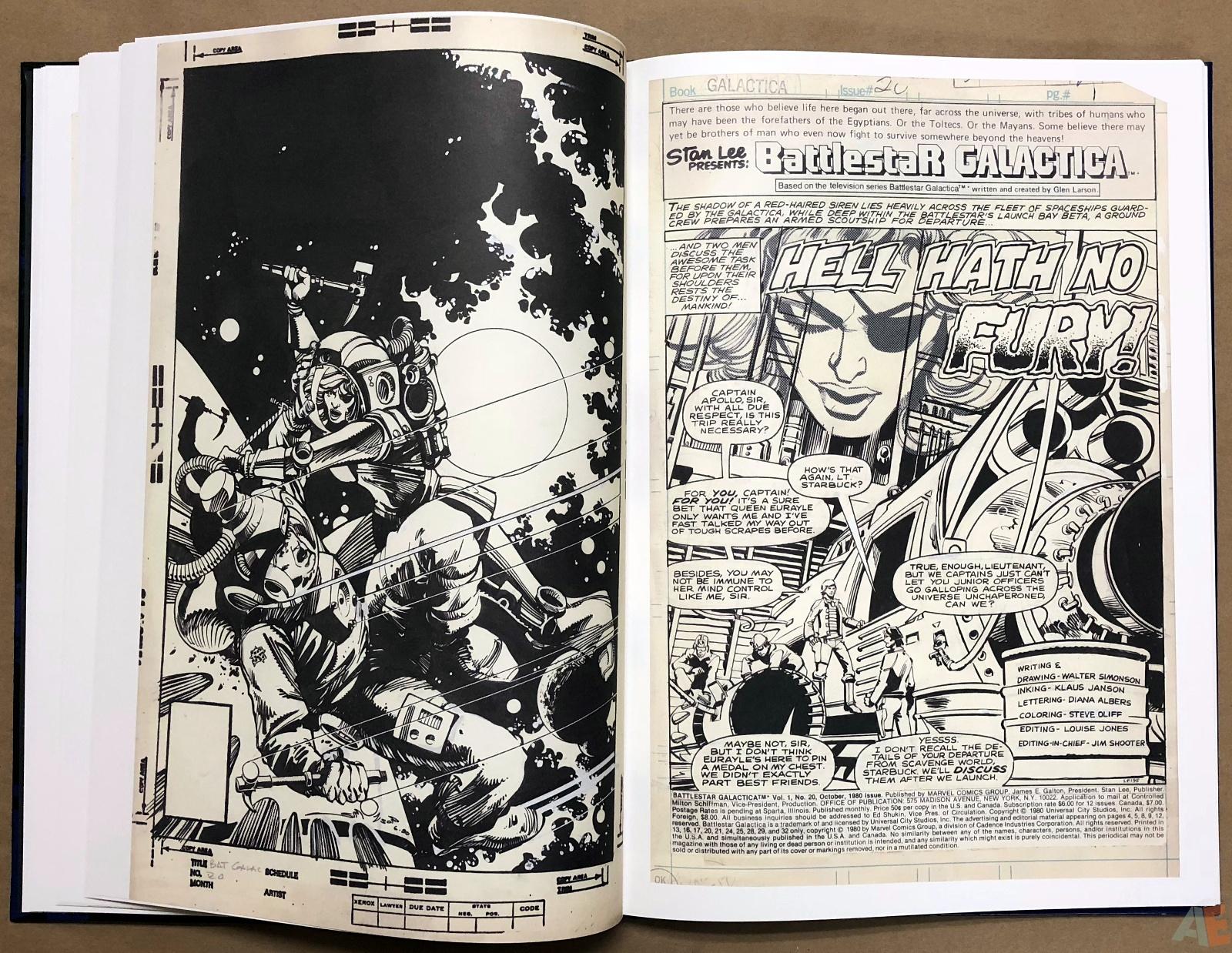 Walter Simonson's Battlestar Galactica Art Edition 14