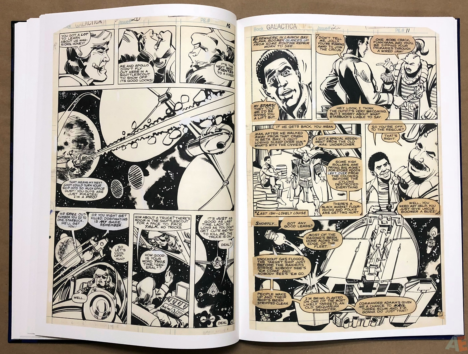 Walter Simonson's Battlestar Galactica Art Edition 16